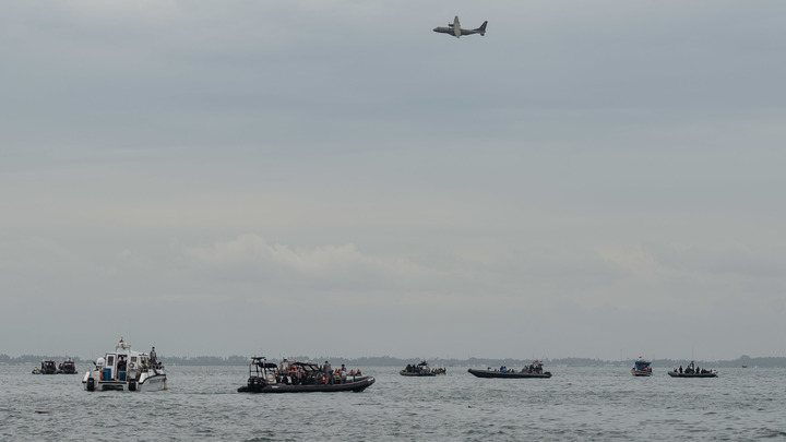 Сигнал чёрных ящиков рухнувшего Boeing навёл спасателей на след