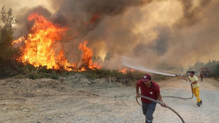 В лесных пожарах Турции обнаружили уязвимость для России