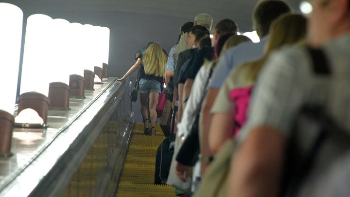 В метро Москвы ко Дню города начал ходить тематический поезд