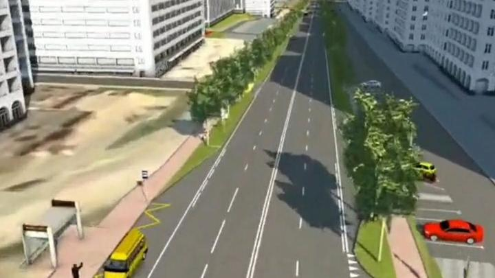 В Новороссийске к осени улицу Мурата Ахеджака сделают четырехполосной