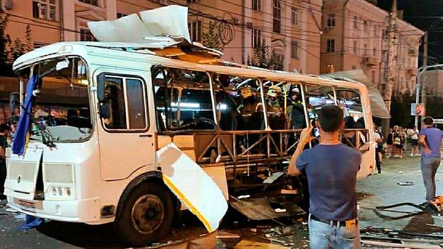 Взрыв в пассажирском автобусе в Воронеже: Теракт, месть, случайность или афера с газом?