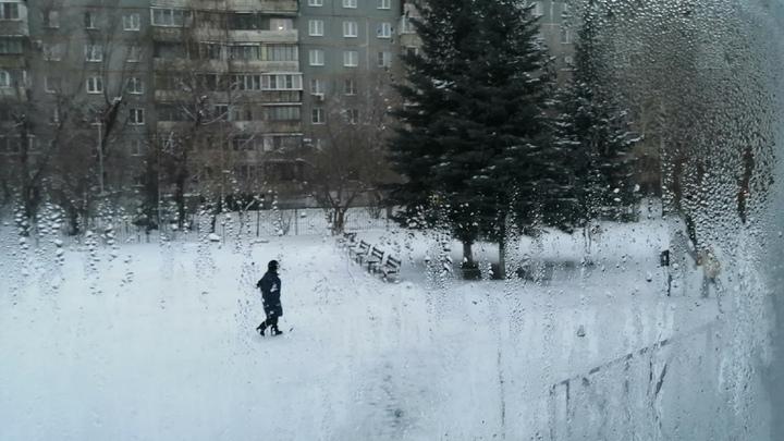 На юге Челябинской области 8 марта поднялась сильная метель