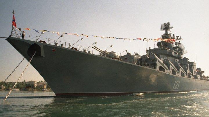 Тяжелые атомные крейсера России идут в Балтику мимо берегов Дании и Швеции