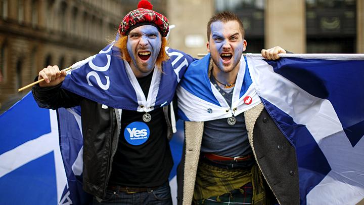 Шотландия подала заявку на независимость