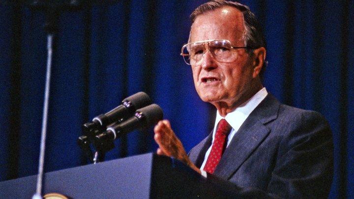 Экс-президент США Буш-старший обвинил Трампа в излишнем хвастовстве