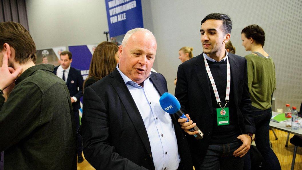 РФС подал вФИФА жалобу напрезидента Федерации футбола Норвегии