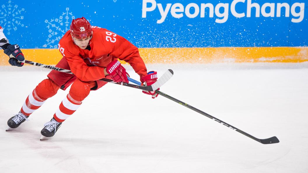 Олимпиада-2018: русские хоккеисты разгромили норвежцев ивышли вполуфинал