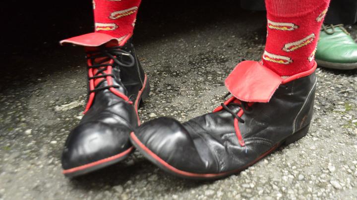 Трибуна с людьми обрушилась перед представлением в Тобольском цирке