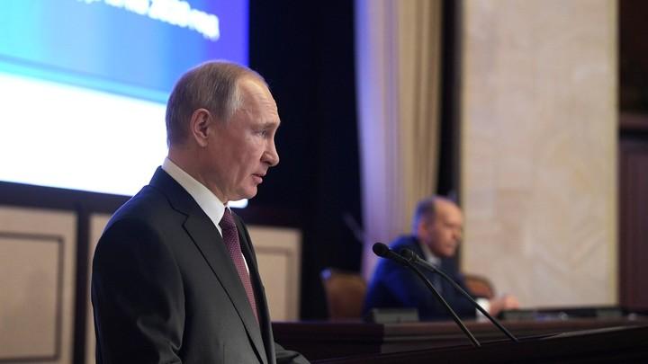 Это что такое?! Чем возмущён Путин, и какое слово запатентовал президент