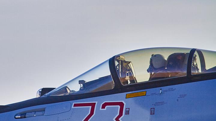 Срочно всем по норам! ВКС России устроили воздушный парад над Идлибом