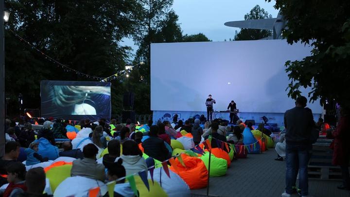 Кино под открытым небом в Подмосковье посмотрели около 6 тысяч человек в июле