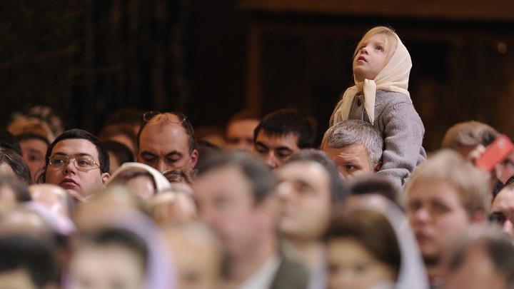 Патриарх: Церковь не должна разделять народ