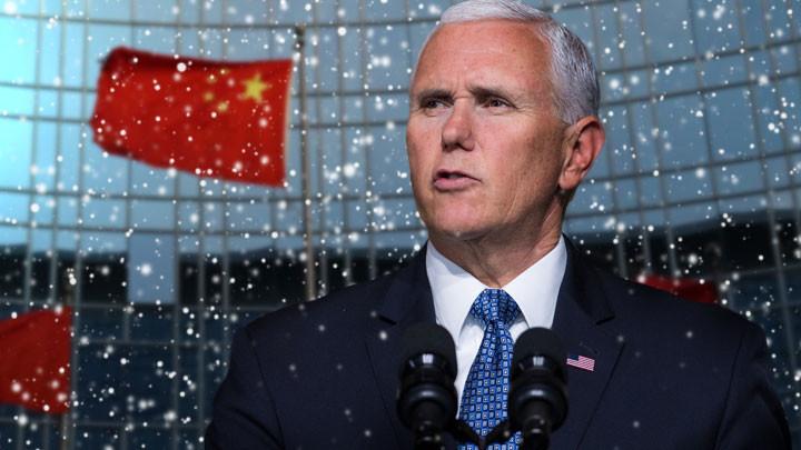 Пенс сделал последнее «китайское» предупреждение