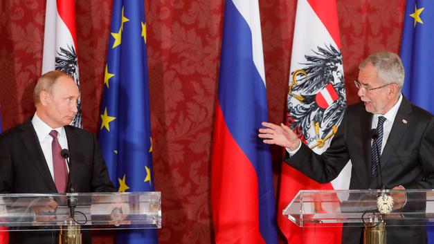 Австрия выбирает Путина
