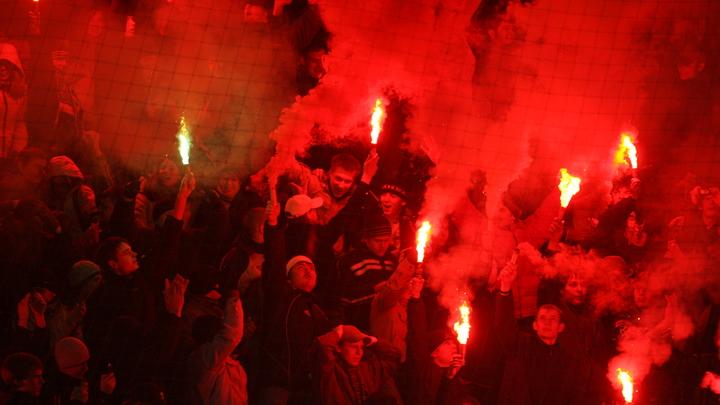 В Литве прошли тренировки по подавлению российских футбольных фанатов