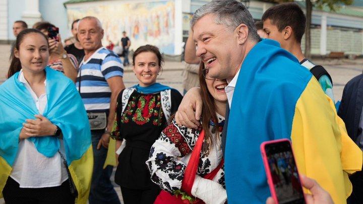 Начало обещанного путча?: Скабеева по-своему объяснила присоединение к националистам в Киеве экс-президента Порошенко