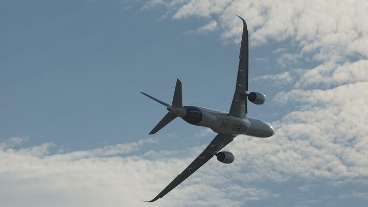 Самолет Руслайна соскользнул с ВПП в Воронеже, выкатился в поле и сломал шасси