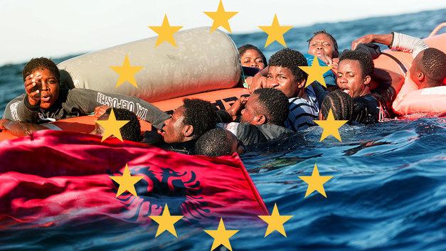 Албания становится «отстойником» для мигрантов