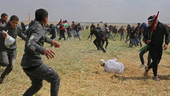 Израильские военные убили 11 палестинцев, протестовавших на границе сектора Газа