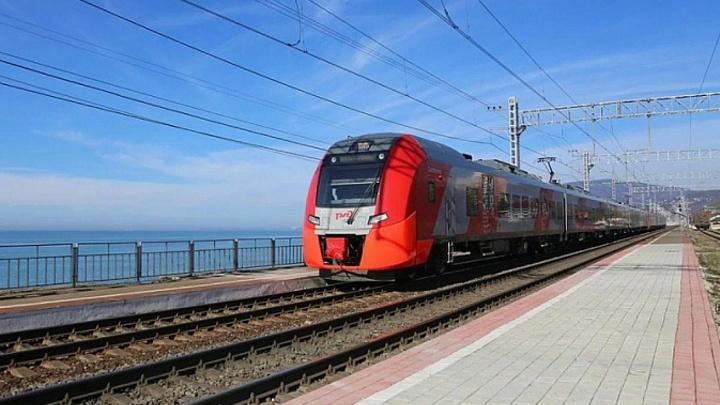 В Сочи для разгрузки дорог пустили дополнительные пригородные поезда