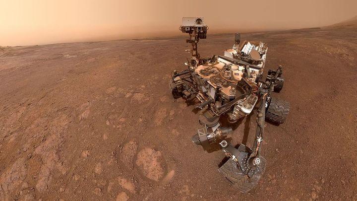 Curiosity снял 360-градусную панораму Марса