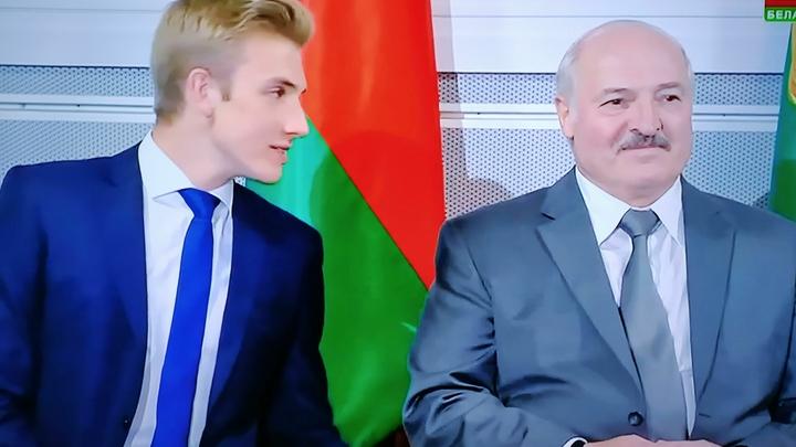 Оппозиционер, разбивающий сердца: Лукашенко оценил политические взгляды сына