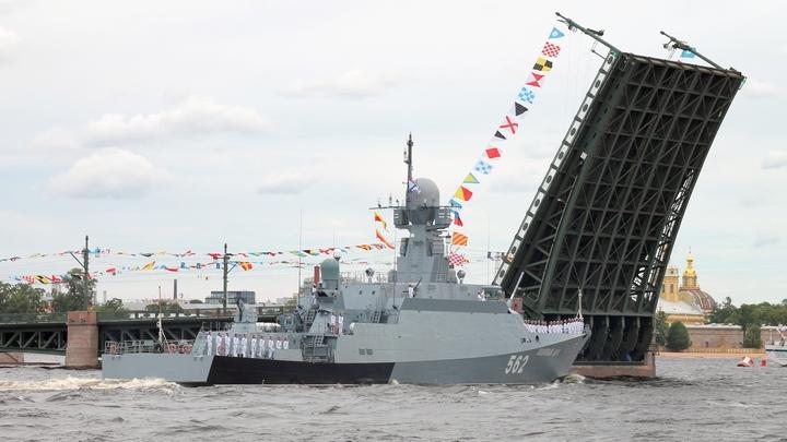МЧС предупредило о потеплении в Петербурге в День ВМФ
