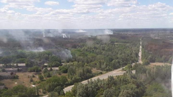 Радиационное облако летит в Германию? В Европе напуганы пожарами под Чернобылем