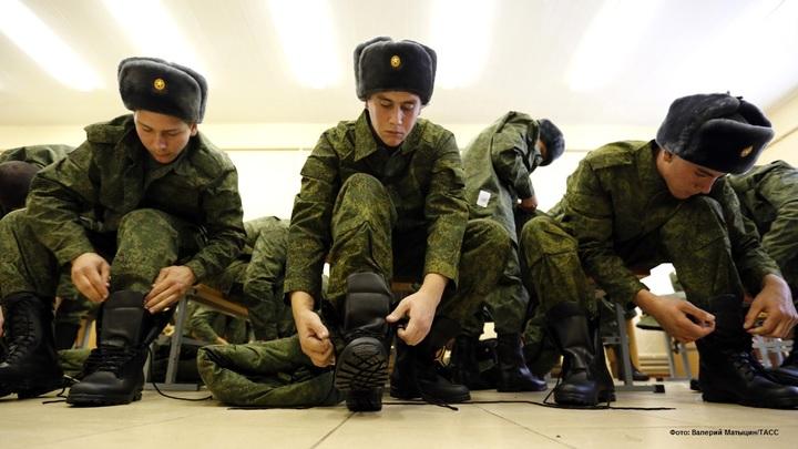 Россияне рвутся в армию