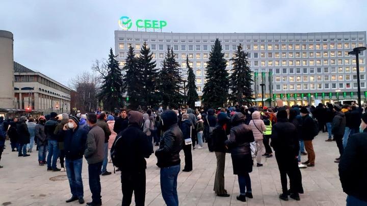 Несогласованная акция в поддержку Навального завершилась в Нижнем Новгороде