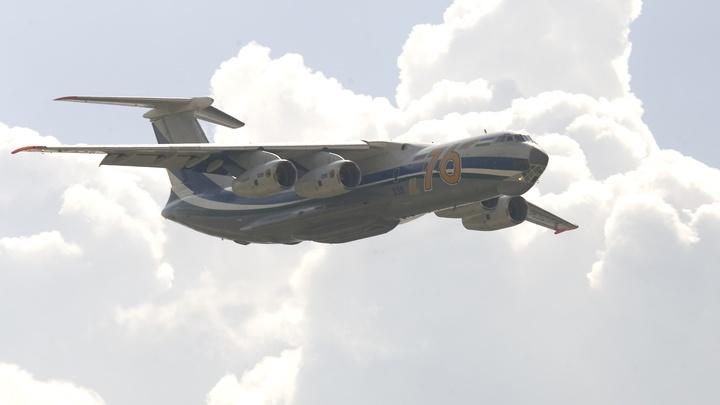 Ил передал Минобороны модернизированный транспортный самолет