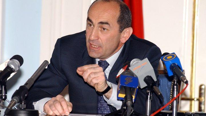 Экс-президент Армении Кочарян арестован заразгон демонстрации десятилетней давности