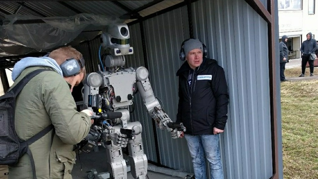 Вид глазами робота
