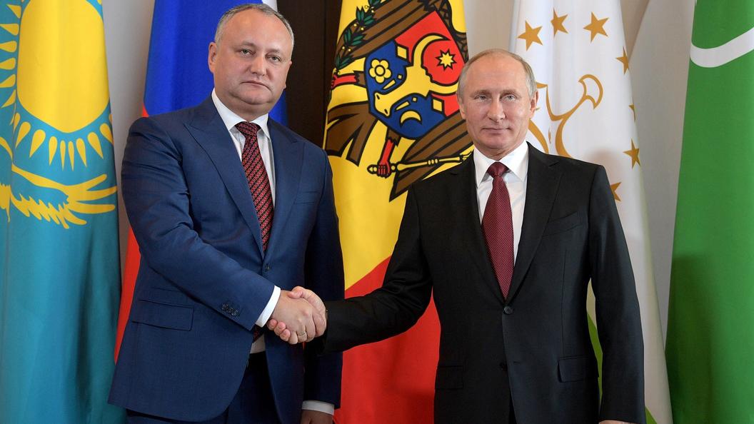Додон хочет обсудить в столице меры повосстановлению отношений между 2-мя странами