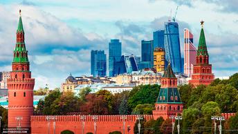 Красную площадь в Москве закрыли для посетителей