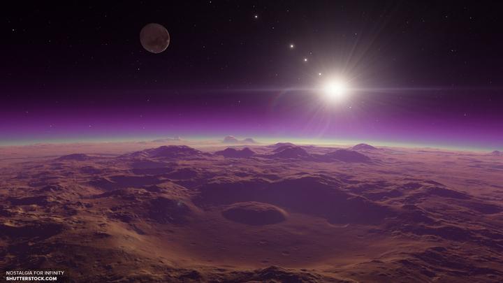 Ученые реконструировали атмосферу Марса в прошлом