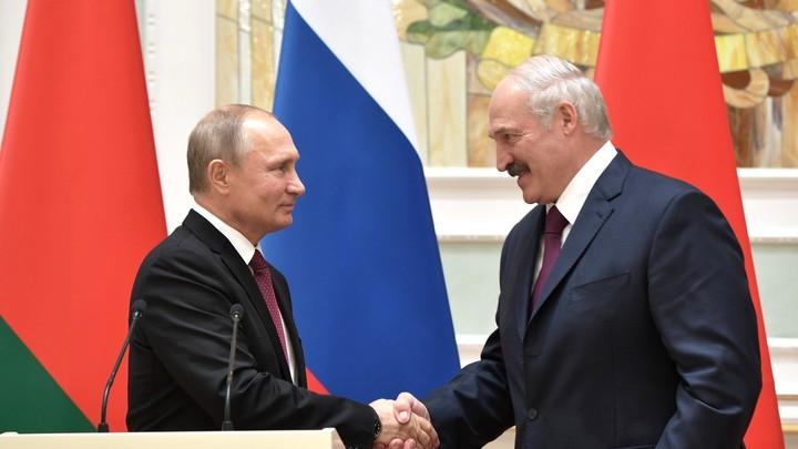 Столько раз Путин ещё никого не поздравлял: Кремль направил телеграмму в Белоруссию