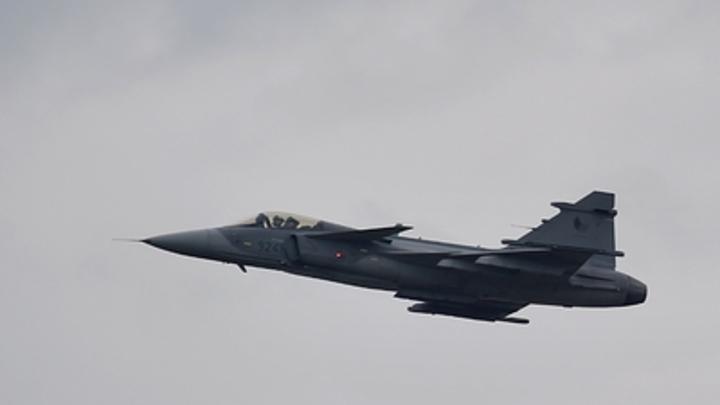 Ради украинского нелегала ВВС Венгрии подняли в воздух новейший истребитель