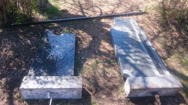 В Ростовской области по указке чиновников снесли мемориалы воинам-афганцам и чернобыльцам