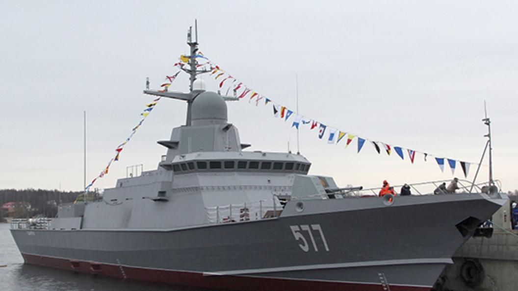НаЛадоге начались тестирования малого ракетного корабля «Ураган»