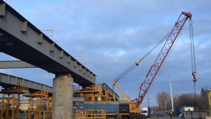 Подрядчик приостановил работы по реконструкции путепровода в Кургане