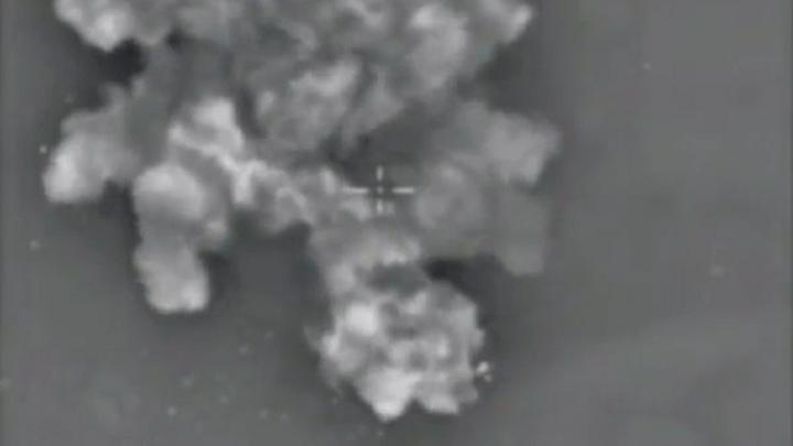 Момент ракетного удара США по Сирии попал на видео