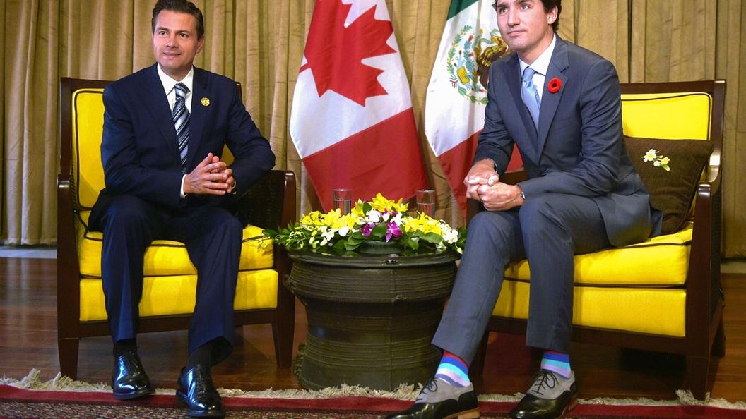 Премьер Канады наАТС произвел фурор среди журналисток