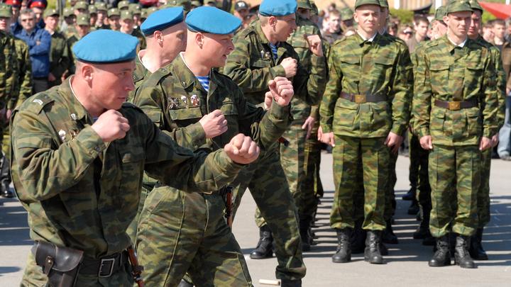 Около 142 тысяч человек отправились в армию во время весеннего призыва