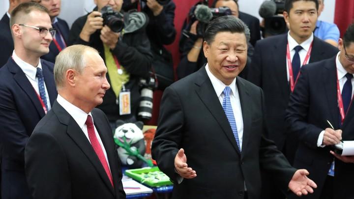 Кошмар США: Союз РФ  иКитая