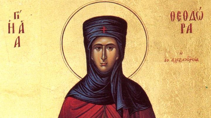 Преподобная Феодора Александрийская. Православный календарь на 24 сентября