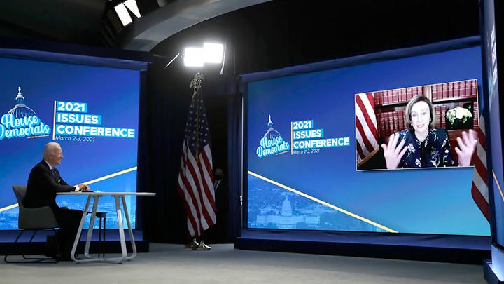 Запрещённая цитата Джо Байдена: Президент США в прямом эфире признался, что он подкаблучник