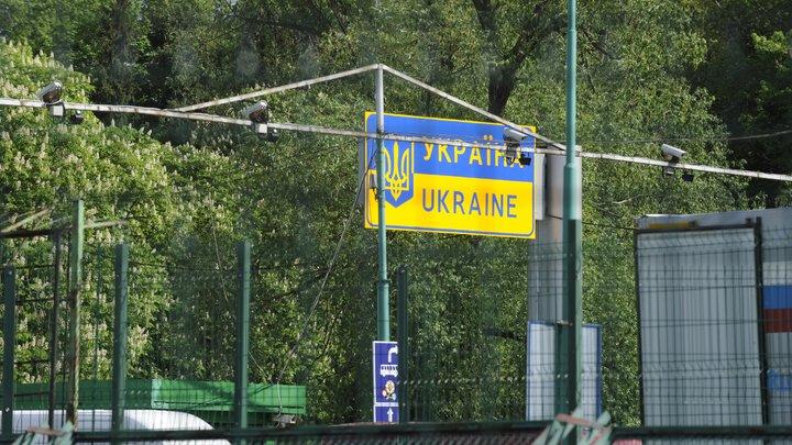 Более ста человек в камуфляже пришли встречать Саакашвили на границу с Польшей