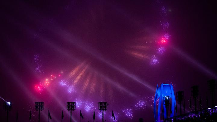 Паралимпийская сборная России прошла по Олимпийскому стадиону Пхёнчхана