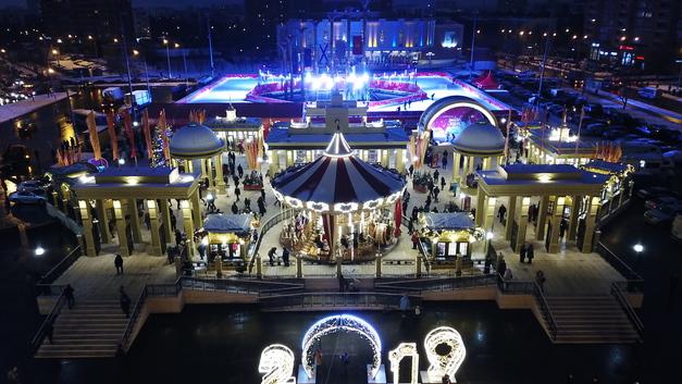 Новогодняя ночь в Москве будет жаркой: Синоптики обещают -5 до -10 градусов
